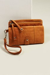 Free People Womens Lola Leather Wallet