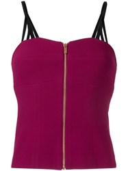 Ginger And Smart Defiance Bustier Women Polyester 10 Red