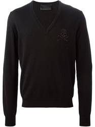 Philipp Plein 'Missing' Sweater Black