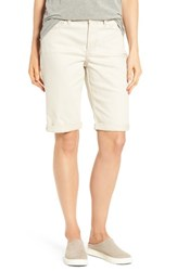 Nydj Women's Briella Roll Cuff Denim Shorts Clay