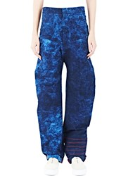 The Autonomous Collections Tie Dye Jeans Blue