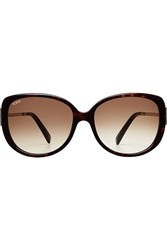 Tod's Tods To0113 Oversize Sunglasses Black