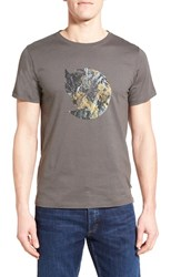 Fjall Raven Men's Fj Llr Ven 'Rock' Graphic T Shirt Mountain Grey