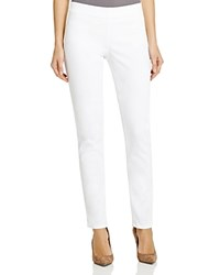 Nydj Petites Alina Pull On Ankle Jeans In White Optic White