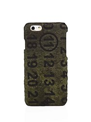 Maison Martin Margiela Military Leather Iphone Case Military Green