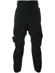 Moohong Cargo Trousers Black