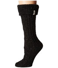 Ugg Shaye Tall Rain Boot Socks Black Women's Knee High Socks Shoes