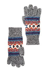 Jack Spade Remsen Knitted Gloves Black