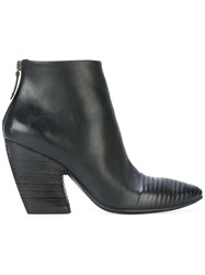 Marsell Pointed Toe Boots Black