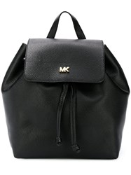 Michael Michael Kors Wide Shaped Backpack Black