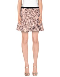 Maison Scotch Skirts Mini Skirts Women Pink