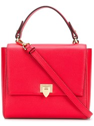 Philippe Model Square Crossbody Bag Red