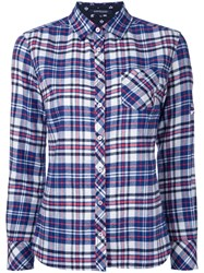 Loveless Checked Shirt Blue