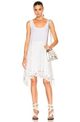 N 21 No. Tank Lace Dress In White