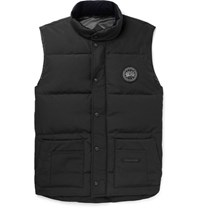 Canada Goose Freestyle Quilted Shell Down Gilet Black