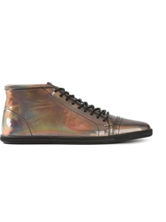 Swear Frank2' Iridescent Trainers Metallic