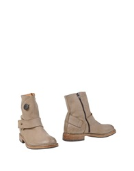 Moma Ankle Boots Beige