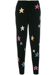 Chinti And Parker Acid Star Track Pants Cashmere Black