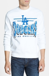 Mitchell And Ness 'Los Angeles Dodgers' Crewneck Sweatshirt White