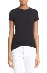 Women's Majestic Short Sleeve Crewneck Tee Noir