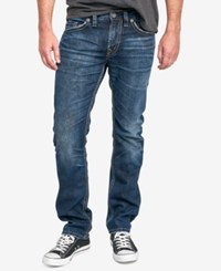 Silver Jeans Co. Men's Konrad Slim Fit Dark Indigo