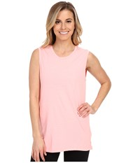 Lucy Savasana Muscle Tank Top Blush Pink Women's Sleeveless