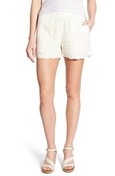 Women's Lucky Brand Cotton Eyelet Shorts