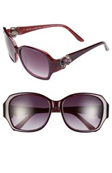 Women's Bcbgmaxazria 'Luminous' 56Mm Sunglasses Purple Laminate