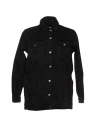 Blk Dnm Denim Outerwear Black