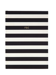Fineandcandy Shop Striped Notebook