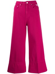Msgm Wide Leg Cropped Jeans 60