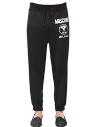 Moschino Printed Techno Cotton Jogging Pants