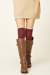 Forever 21 Over The Knee Wool Blend Socks