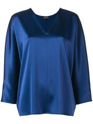 Gianluca Capannolo Judy Blouse Blue