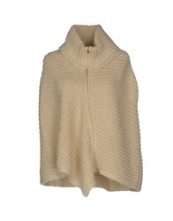 Stefanel Capes And Ponchos Beige