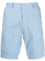 Hugo Boss Slim Fit Deck Shorts Blue