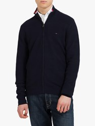 Eden Park Full Zip Jumper Grey