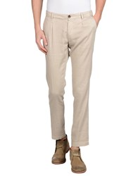 Pence Denim Denim Trousers Men Beige