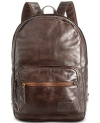 Patricia Nash Men's Leather Roma Backpack Chocolate