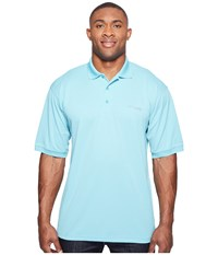 Columbia Perfect Cast Polo Extended Moxie Men's Clothing Purple