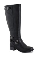 Intaglia Nashville Wide Calf Riding Boot Wide Width Available Black