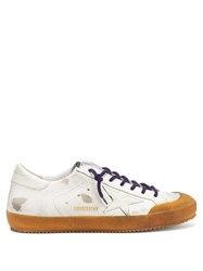 Golden Goose Superstar Leather Trainers White Multi