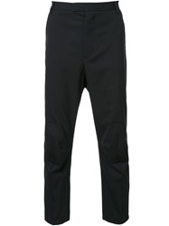 Matthew Miller Stitched Panel Trousers Black