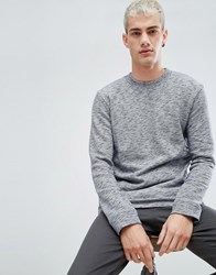 Selected Homme High Neck Sweat Maritime Blue
