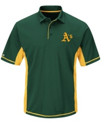 Majestic Men's Oakland Athletics Top Of The Inning Polo