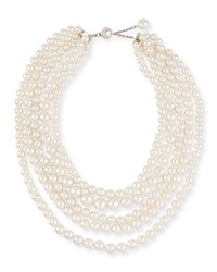 South Sea Pearl Five Strand Necklace Assael Blue