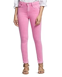 Sanctuary Robbie High Rise Skinny Jeans In Washed Wild Cherry