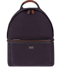 Ted Baker Brandor Canvas Backpack Navy