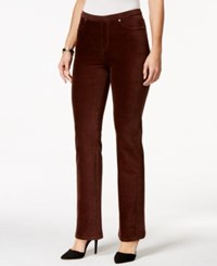 Styleandco. Style And Co. Bootcut Corduroy Leggings Only At Macy's Espresso Bean