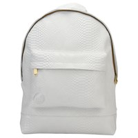 Mi Pac Faux Python Backpack White